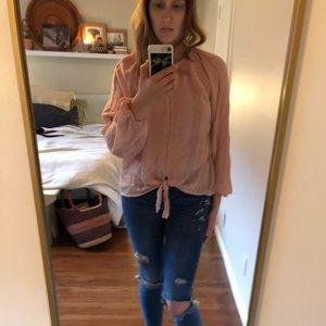 Tops - Peasant blouse